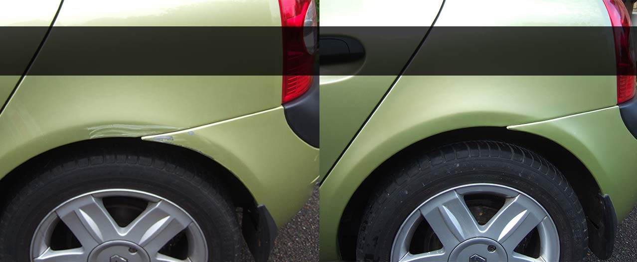 Common Damage to Vehicles in Huntingdon, Cambridgeshire that we can repair